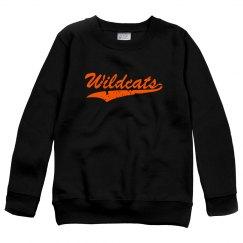 Wildcats youth crewneck