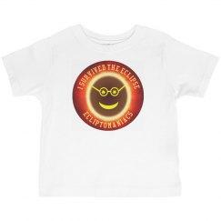 Solar Eclipse Survivor Toddler Tee