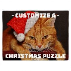 Custom Xmas Pet Puzzle
