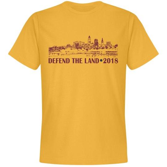 Defend the Land Cleveland Basketball 2018 Men's Shirt