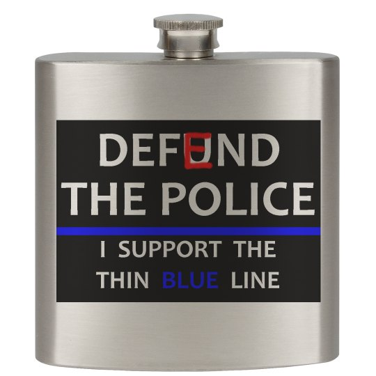 Defend The Police - Flask