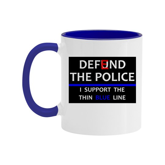 Defend the Police - Two Tone