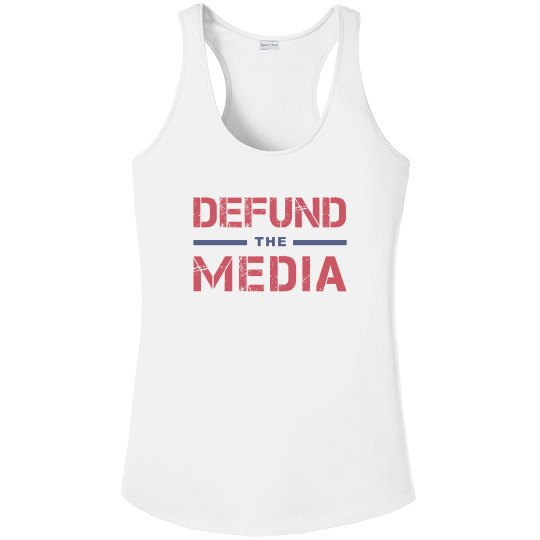 Defund the Media Old Glory Colors