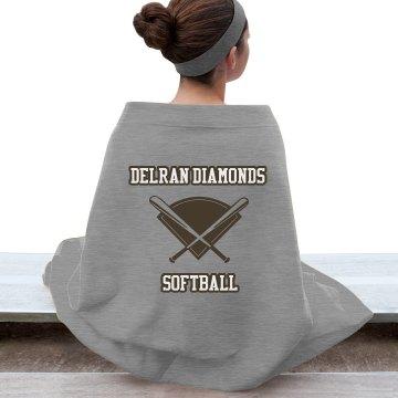 Delran Diamonds Blanket