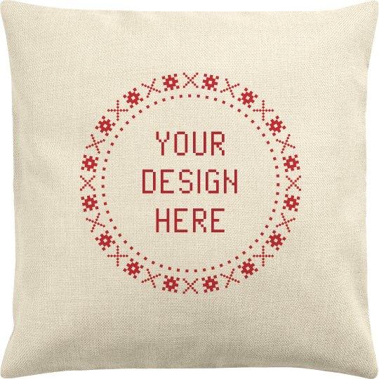 Design a Custom Christmas Pillowcase
