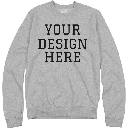 Design A Custom Crewneck Sweatshirt