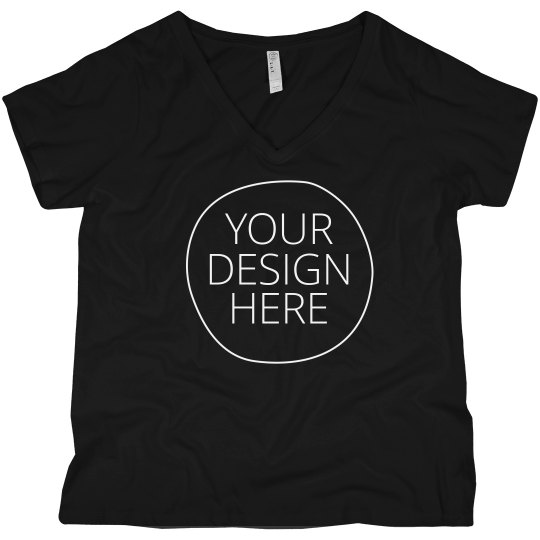 Design a Custom Curvy V-Neck