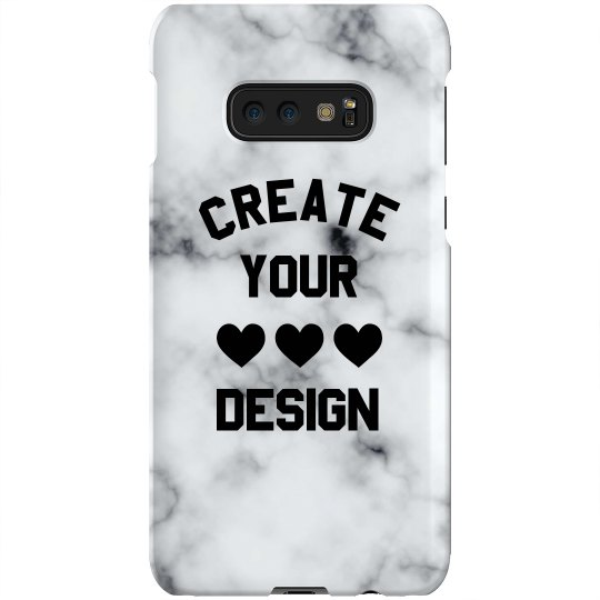 Design a Custom Marble Print Phone Case
