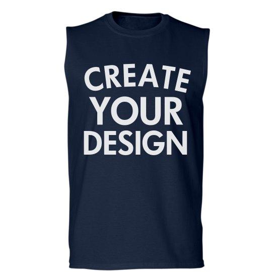 Design a Custom Sleeveless Tee