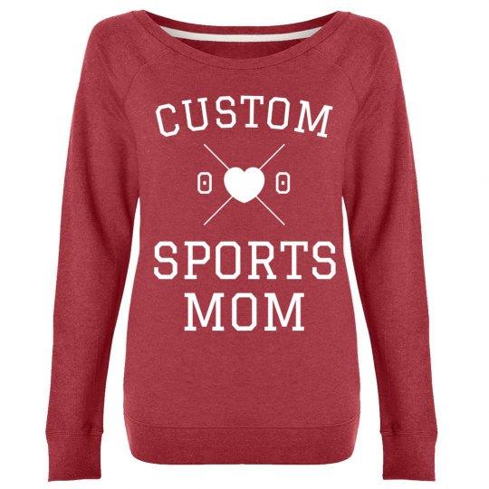 Design a Custom Sport Mom Crew