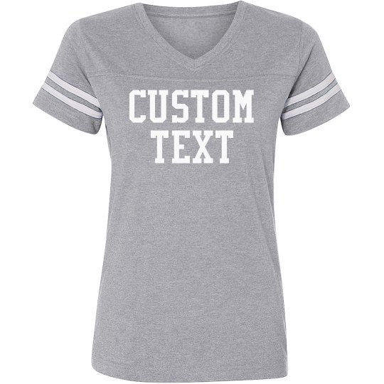 Design a Custom Sport V-Neck