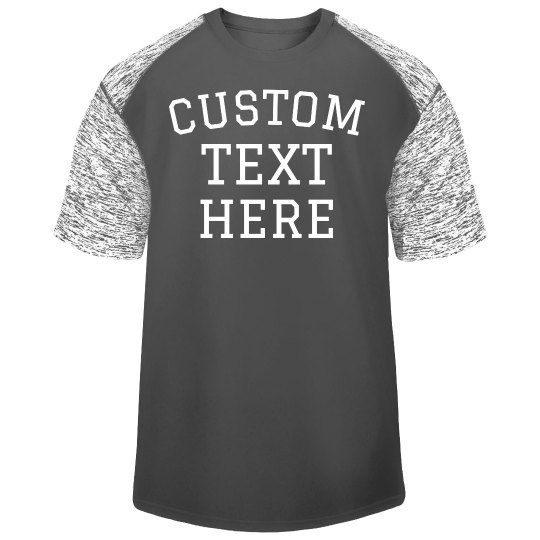 Design a Custom Sport Workout Tee