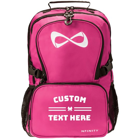 Design a Personalized Cheer or Dance Nfinity Backpack