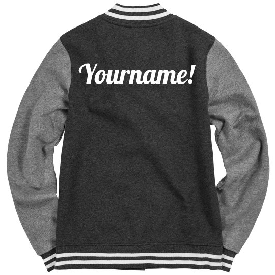 Design A Trendy Varsity Jacket With Your Name