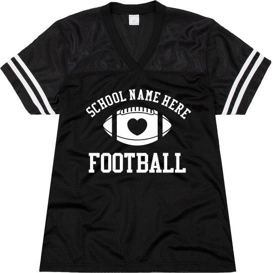 Design Best Selling Custom Football Mom Jerseys
