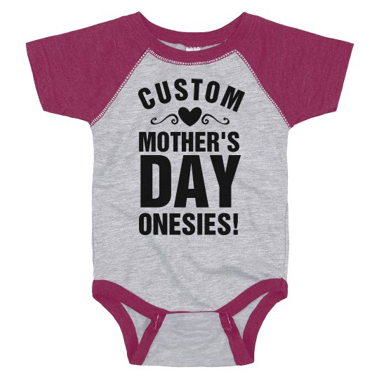 Design Bodysuits for Mother's Day