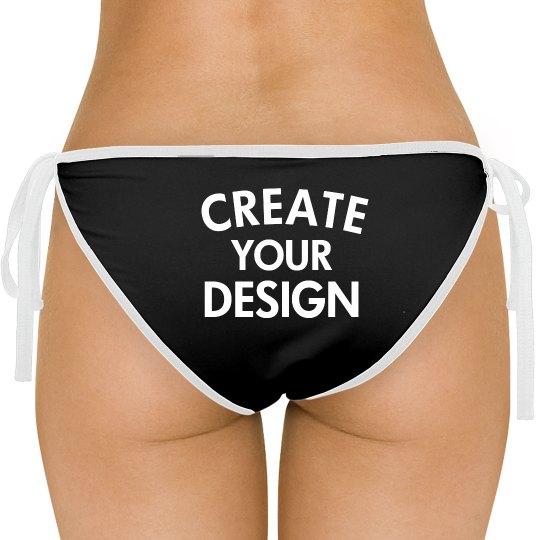 Design your Custom Bikini Bottoms