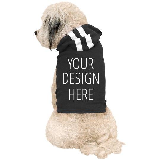 Design Your Dog Hoodie Add Text & Art