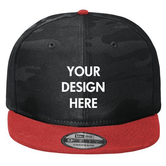 Design Your Logo On This Hat