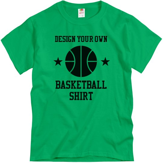 Design Your Own Basketball Shirt
