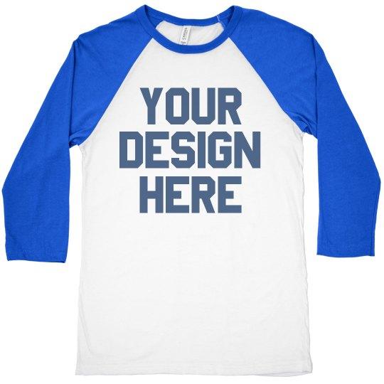 Design Your Own Custom Raglans