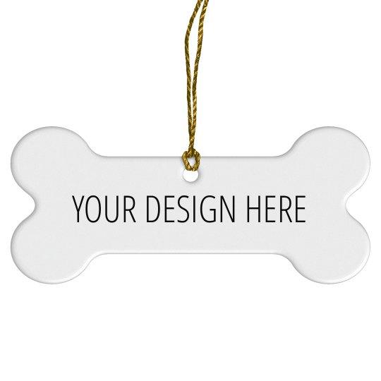 Design Your Own Pet Ornament