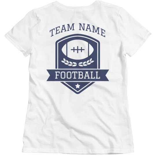 Design Your Own Team Football Tee