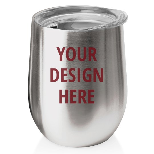 Design Your Stemless Wine Tumbler
