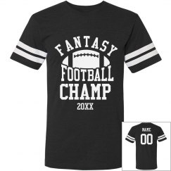Fantasy Football Champ Custom Year
