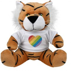 Rainbow heart Tiger