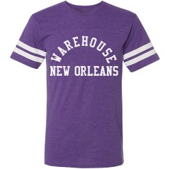Warehouse Jersey LSU Purple Gold
