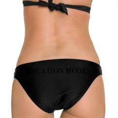 WOMENS BLK/BLK SWIM BOTTOMS