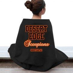 Scorpion Stand Blanket