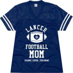 LANCER FOOTBALL MOM JERSEY