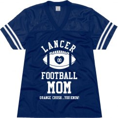 LANCER FOOTBALL MOM JERSEY