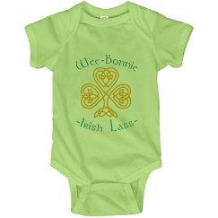 Wee Bonnie Lass St Patricks Day