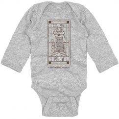 Infant Orignal Villa Line Logo Onesie