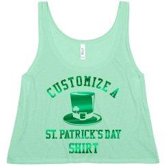 Custom Metallic St. Patrick's Day