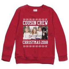 Custom Photo Upload Cousin Crew