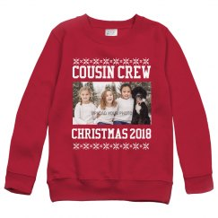 Custom Photo Upload Cousin Crew