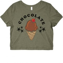 Chocolate Bff Crop