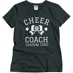 Custom Trendy Cheer Coach Design