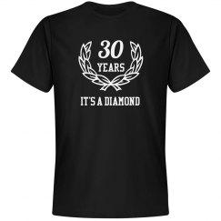 It's a diamond anniversary