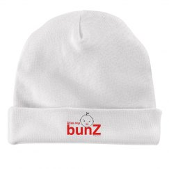 kiss my bunZ infant hat