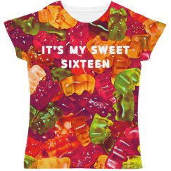 My Sweet Sixteen All Over Print