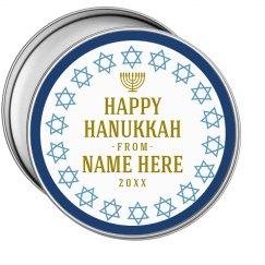Happy Hanukkah Cookies