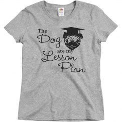 Dog Ate The Lesson Plan