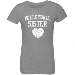 Volleyball Sister Youth Tee