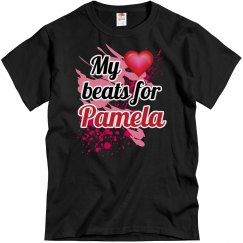 My heart beats...Pamela