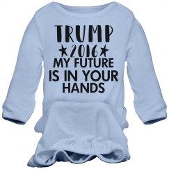 Donald Trump Infant Gown